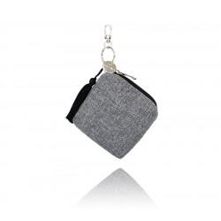LULLALOVE Minibag – kleines multifunktionales Täschchen - GRAU MELANGE