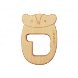 LULLALOVE MR: B. Baby Holzbeißring aus Ahorn