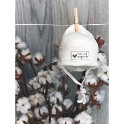 Nanaf Organic Babymütze zum Binden Gr. 56
