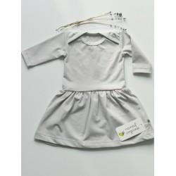 Nanaf Organic Babykleidchen Gr. 74 - GREY MOUSE