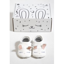 FIRST BABY SHOES - Cute Rabbit Gr. S (3-9 Monate)