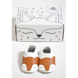 FIRST BABY SHOES - Kind Fox Gr. S (3-9 Monate)