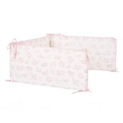 Samiboo Nestchen für die halbe Bettumrandung 60x120cm - THE LILAC