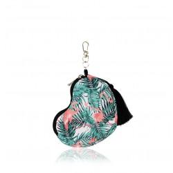FARBOTKA Minibag – kleines multifunktionales Täschchen in Herzform - FLAMiNGO