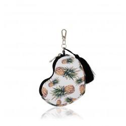 FARBOTKA Minibag – kleines multifunktionales Täschchen in Herzform - ANANAS