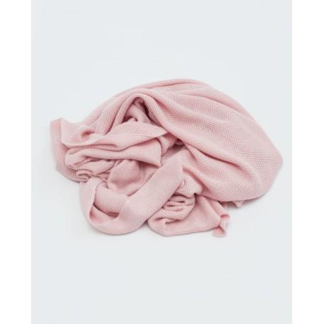 Petit Coco First Blanket - Bambus + Baumwolle 85x85cm - ROSA