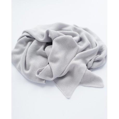 Petit Coco First Baby Blanket - Bambus + Baumwolle 85x85cm - GRAU
