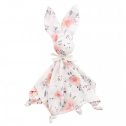 SAMIBOO - DouDou Schmusehäschen aus 100 % Bambus + Silver Plus Protection - IN BLOOM