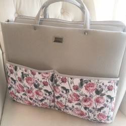 FARBOTKA FARBABY Mamatasche – GRAU / ROSES