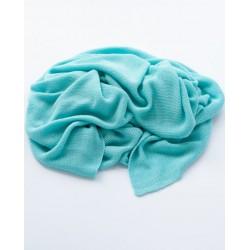Petit Coco First Baby Blanket - 100% Bambus 85x85cm - AQUA