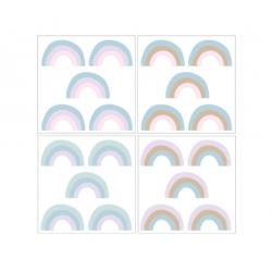 DEKORNIK hochwertige Wandsticker RAINBOW - Set I