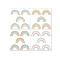 DEKORNIK hochwertige Wandsticker RAINBOW - Set II