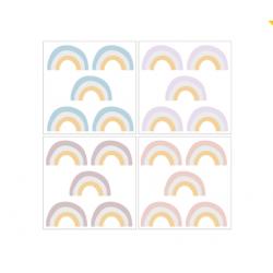 DEKORNIK hochwertige Wandsticker RAINBOW - Set III