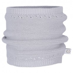 YOSOY Loopschal aus 100% Baumwolle 1- 5 Jahre - GRAU