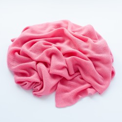 Petit Coco First Baby Blanket - 100% Bambus 85x85cm - RASPBEERY