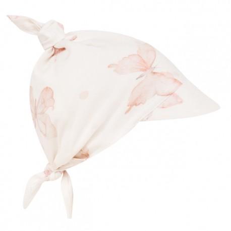 SAMIBOO - Kopftuch zum Binden mit Schirm aus 100 % Bambus - BUTTERFLIES