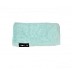 LULLALOVE First Baby Blanket / Nebeldecke - 100% Bambus 90x90cm - MINT