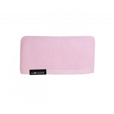 LULLALOVE First Baby Blanket / Nebeldecke - 100% Bambus 90x90cm - ROSA