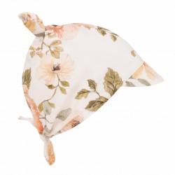 SAMIBOO - Kopftuch zum Binden mit Schirm aus 100 % Bambus - VINTAGE BLOOM