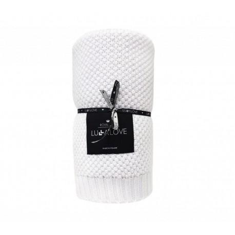 LULLALOVE Ganzjahresdecke - Bambus + Baumwolle 80x100cm LIMITED EDITION - WHITE