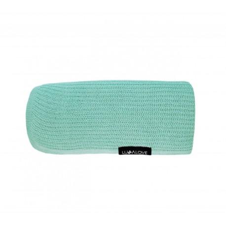 LULLALOVE First Baby Blanket / Nebeldecke - 100% Bambus 90x90cm - SALBEI
