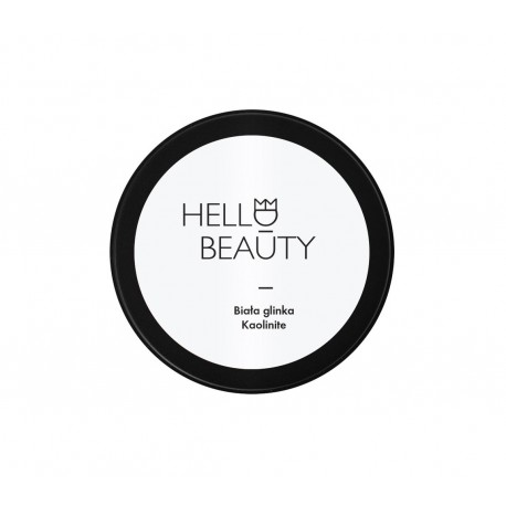 LULLALOVE HELLO BEAUTY - Maske aus Tonerde 120g - WEIß