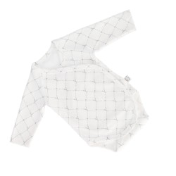 YOSOY STARS Wickelbody langarm aus 100% Organic Cotton GOTS Gr. 62 - LIMITED EDITION