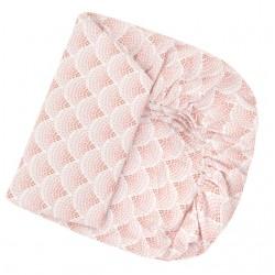 SAMIBOO Spannbettlaken 60x120cm aus 100% Baumwolle - RAINBOW
