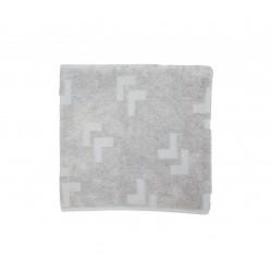 LULLALOVE Handtuch aus 100% Baumwolle 70x140cm - GRAU
