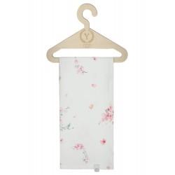 YOSOY fließende Swaddledecke aus 100% Bambus 120x120cm - JAPANESE FLOWERS