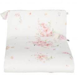 """YOSOY- Bettwäsche aus 100% Organic Cotton GOTS mit """"FÜLLUNG"""" 100x75cm - JAPANESE FLOWERS"""