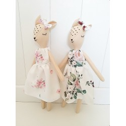 YOSOY - REH Puppe 100% Handmade - JAPANESE FLOWERS