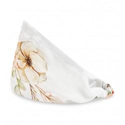 QBANA MAMA - Haarband aus 100 % Bambus Gr. S - VINTAGE FLOWERS