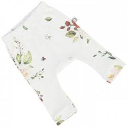 YOSOY Babyhose aus 100% Organic Cotton GOTS Gr. 56/62- VINTAGE ROSES