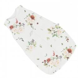 YOSOY Schlafsack 100% Organic Cotton GOTS Gr. 0-9 Monate 85 cm - VINTAGE ROSES