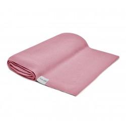 QBANA MAMA leichte Decke aus 100% Bambus 80x80cm - VINTAGE ROSE
