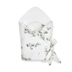 Qbana Mama Einschlagdecke aus Bambus - EUKALYPTUS