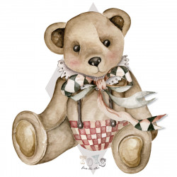 DEKORNIK hochwertige Wandsticker Gr. L Big Bear Theodore / Toys from the attic