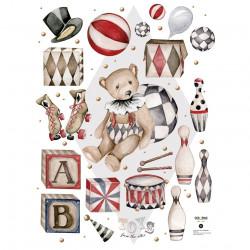 DEKORNIK hochwertige Wandsticker Set 1 Meet Theodore / Toys from the attic