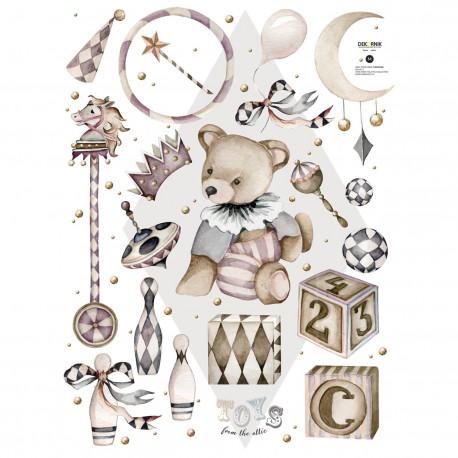 DEKORNIK hochwertige Wandsticker Set 2 Meet Theodore / Toys from the attic
