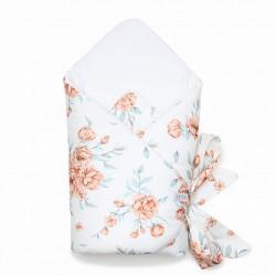 Qbana Mama Einschlagdecke aus Baumwolle - BLOOM REVIVAL
